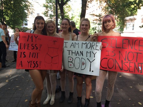 The SlutWalk marches over its critics