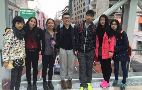 Chinese exchange students come to Cleveland from sister school