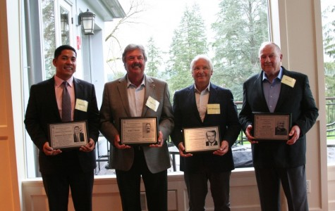 Four distinguished alumni honored
