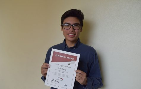 Cyrus Lyday awarded Gates Millennium scholarship