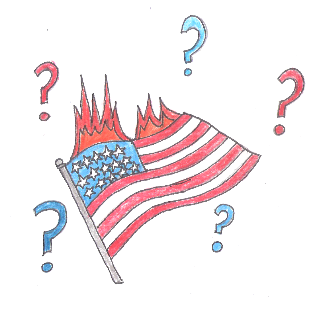 Should the flag be burned in protest?