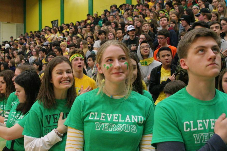 Versus Week Leaves Students in High Spirit