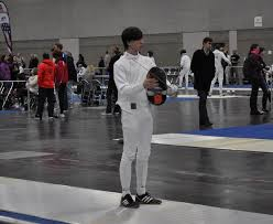 Sawyer Jackson before a bout.