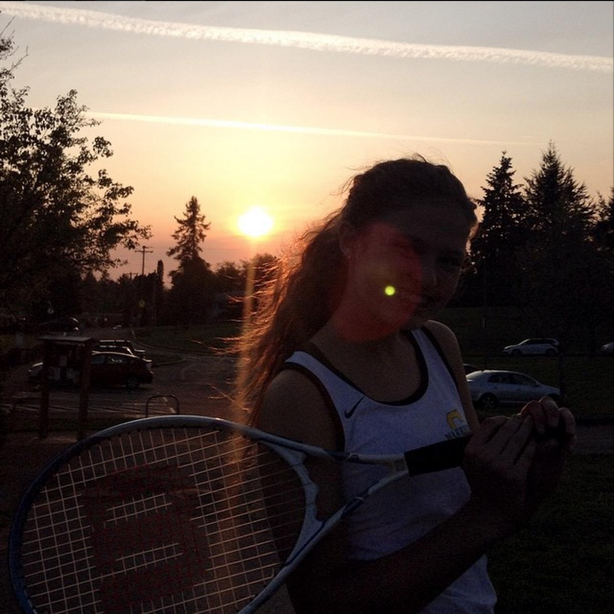 Tori Tefft of Cleveland girls tennis from @agathelv on instagram
