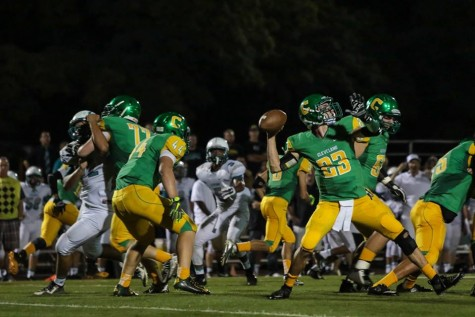 Varsity Football: Warriors win first home game in two years