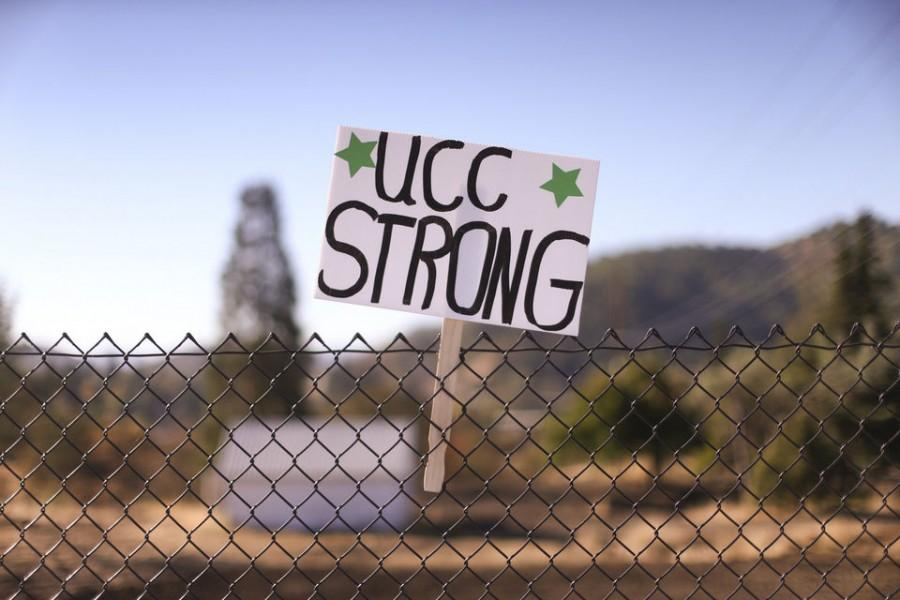 Umpqua Community College shows support after a mass shooting  Oct. 1. OregonLive's photo