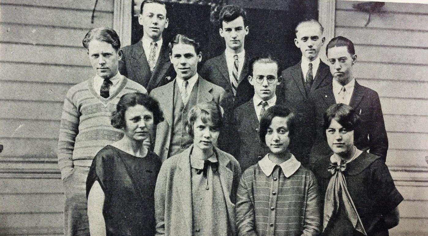 The staff of the 1926