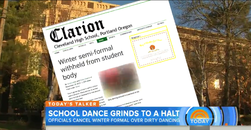 The Clarion featured on a Today Show news piece.