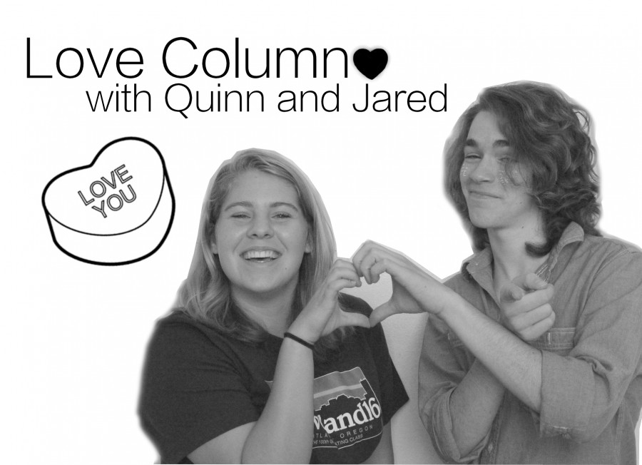 Love columnists Quinn Gonzales and Jared Watson