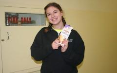 Alex Larson: Winner winner Parmesan chicken dinner!