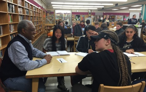 Chinook Academy students interview Cleveland alumni