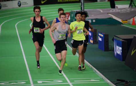CHS stars run in international indoor competition