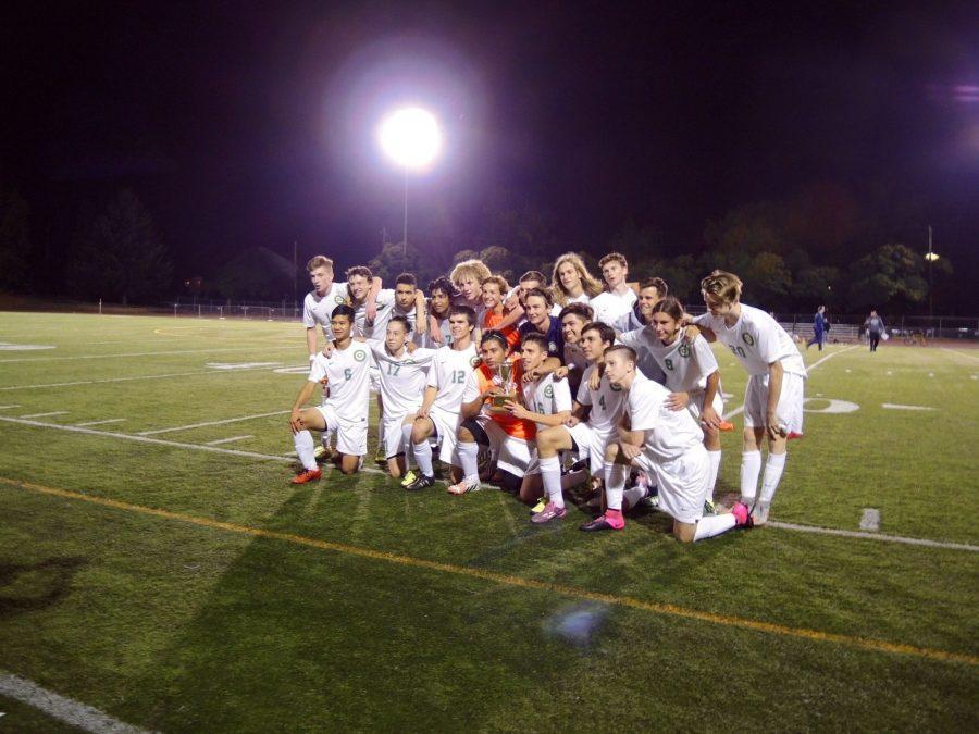 Last year's varsity boys soccer team.
