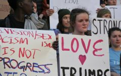 Cleveland Student Organized Protest after Donald Trump's Election