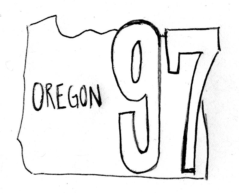 Oregon ballot measure number 97 did not pass.