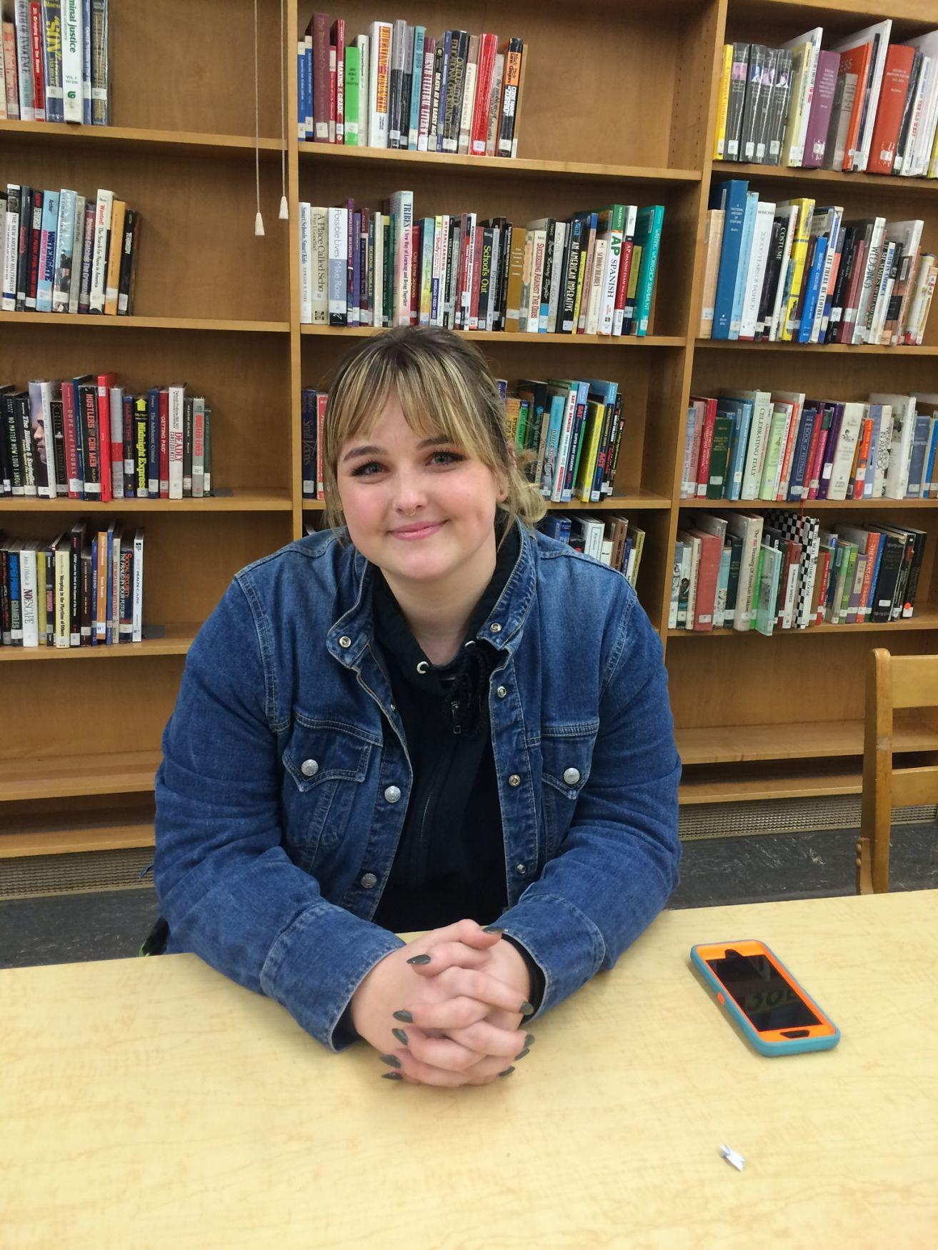 On B days during sixth period, junior Sydney Toops, mentors in the special needs program.
