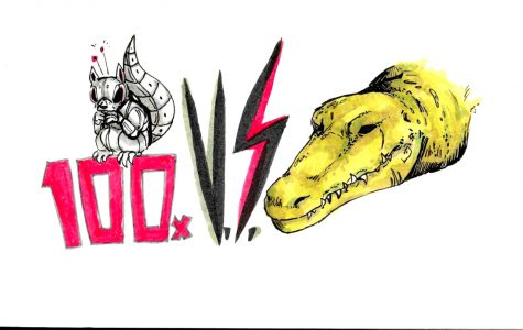 Versus Final Battle – Crocodile Vs. 100 Robot Squirrels
