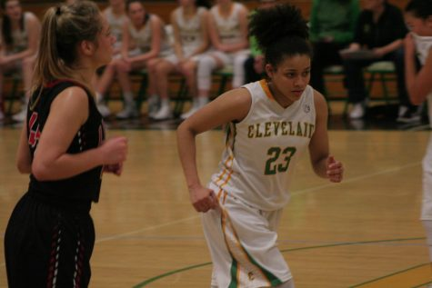 Senior Tynesha Parnell (pictured) is team captain along with senior Elena Matt.