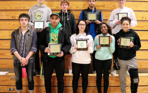 Winter Sports' Athletes Awarded for their Dedication