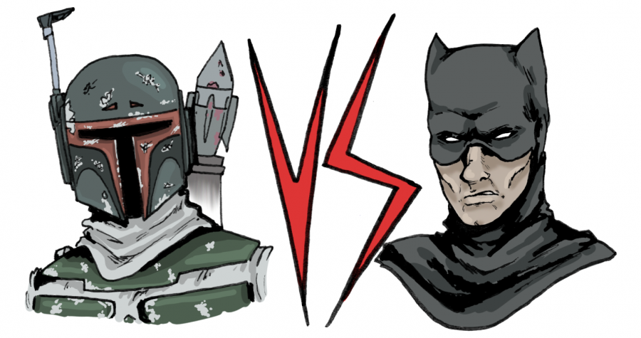 Boba Fett vs Batman