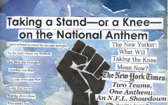 Taking a stand — or a knee — on the National Anthem