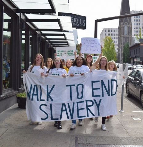 Portland's Youth Walks to End Slavery