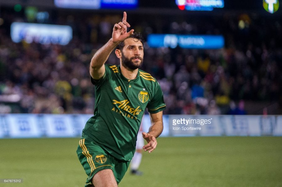 Diego Valeri won the MLS MVP title with 50 percent of the vote. Getty Images.