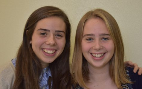 Kira and Emily Swinth (left to right)