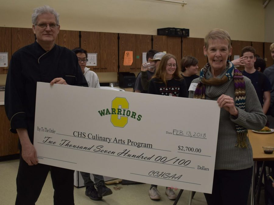 CHS+Alumni+Association+Donates+to+Culinary+Arts