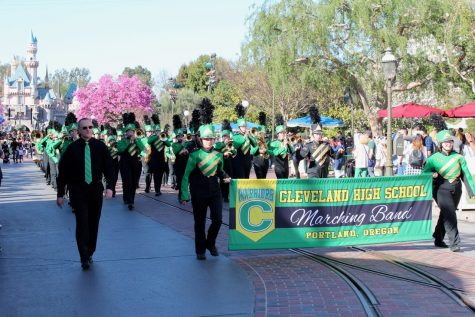 CHS Band Marches Their Way to Disneyland