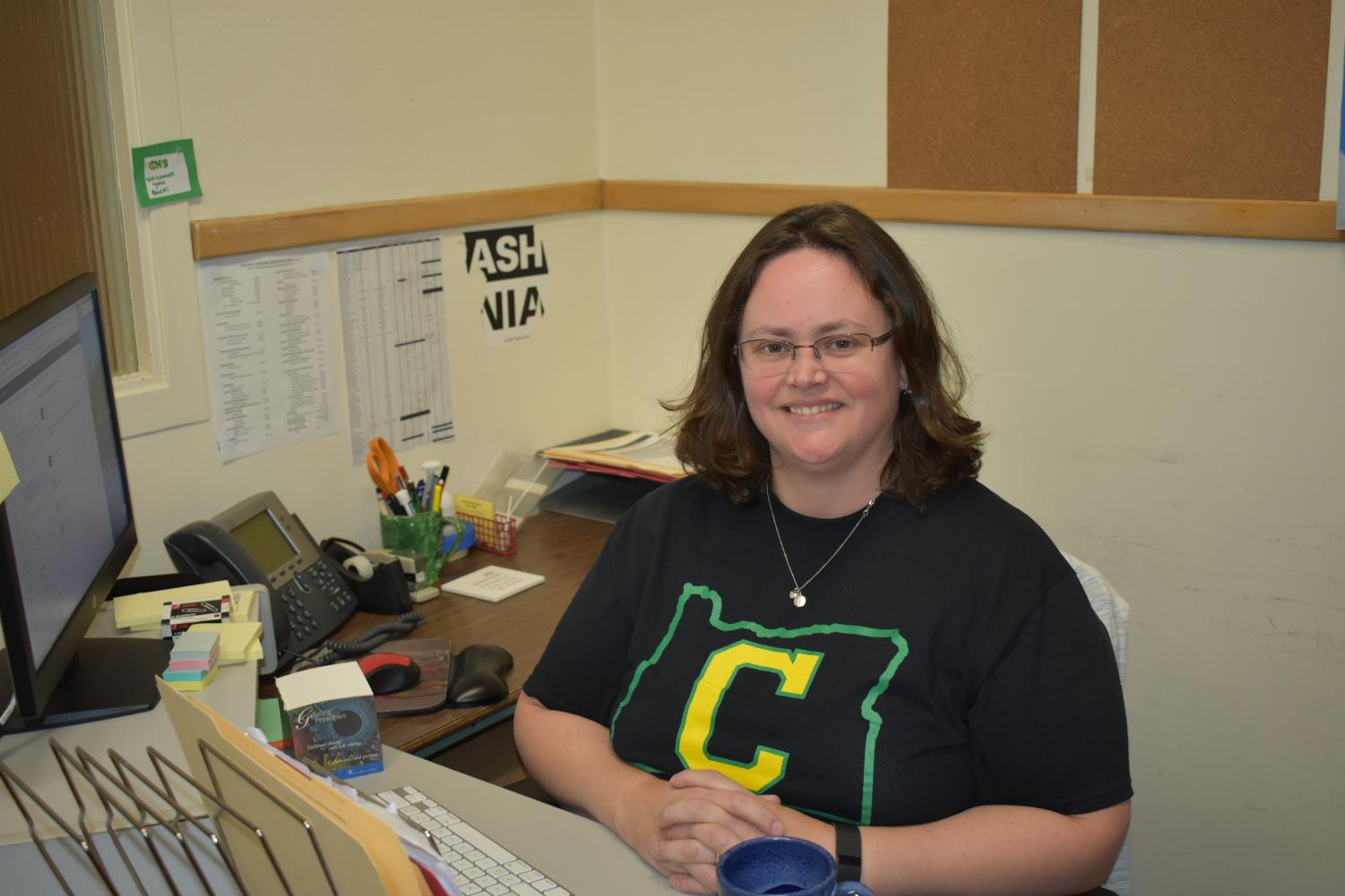 Margie Sudyam was recently hired as the new testing coordinator and part time tech support worker.
