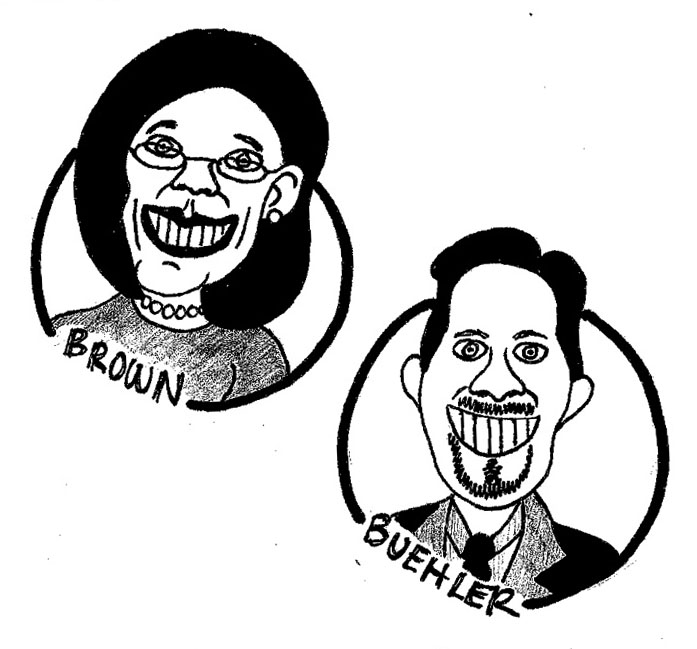 Kate Brown holds a 5-point advantage over Knute Buehler in the most recent poll.