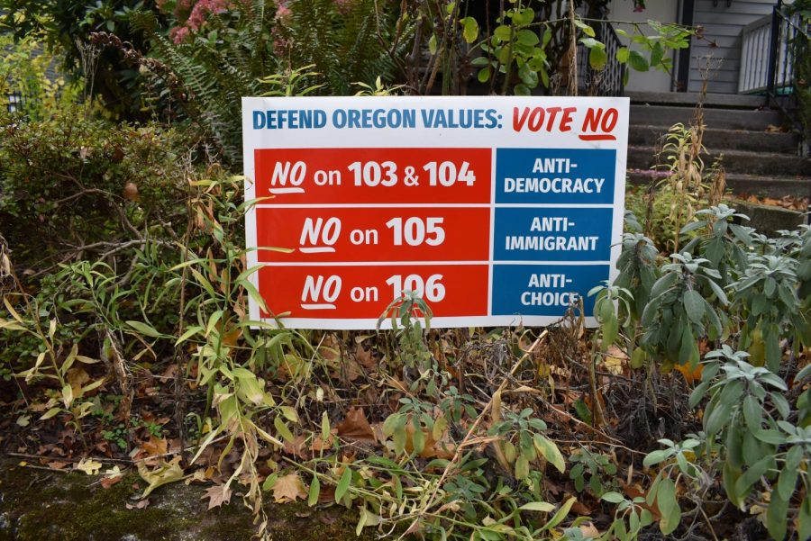 The+liberal+group+Defend+Oregon+urged+a+%22No%22+vote+on+four+of+the+five+Oregon+ballot+measures+--+exactly+what+voters+did.