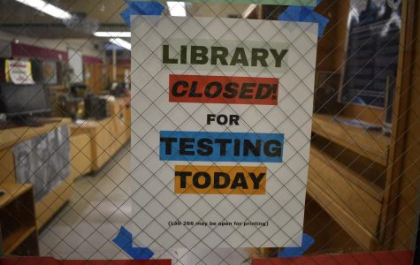 The Cleveland Library was closed for the week of February 11-15 for state testing.
