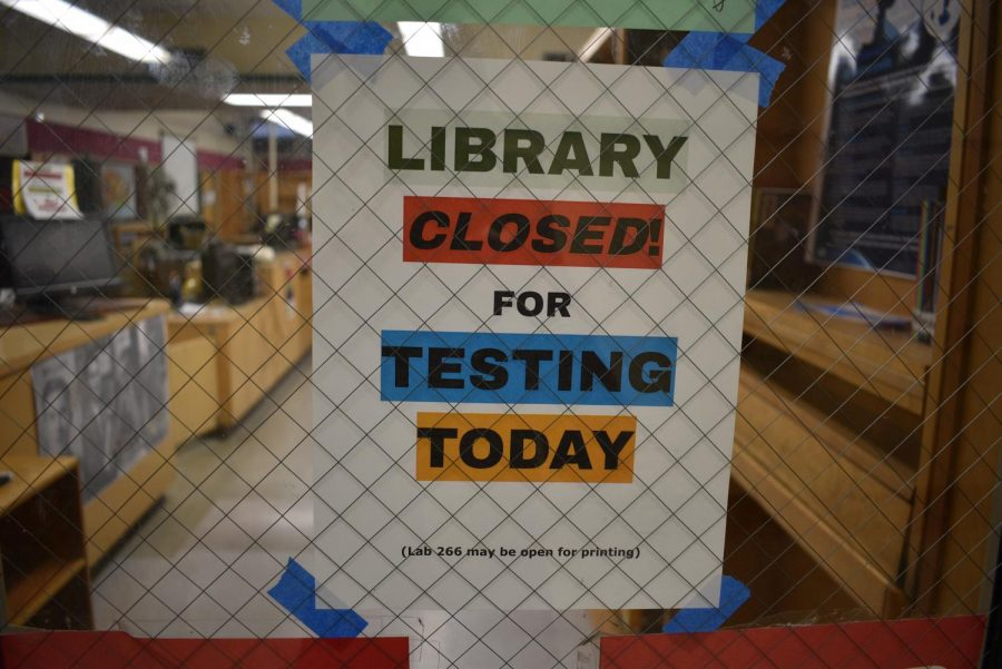 The+Cleveland+Library+was+closed+for+the+week+of+February+11-15+for+state+testing.
