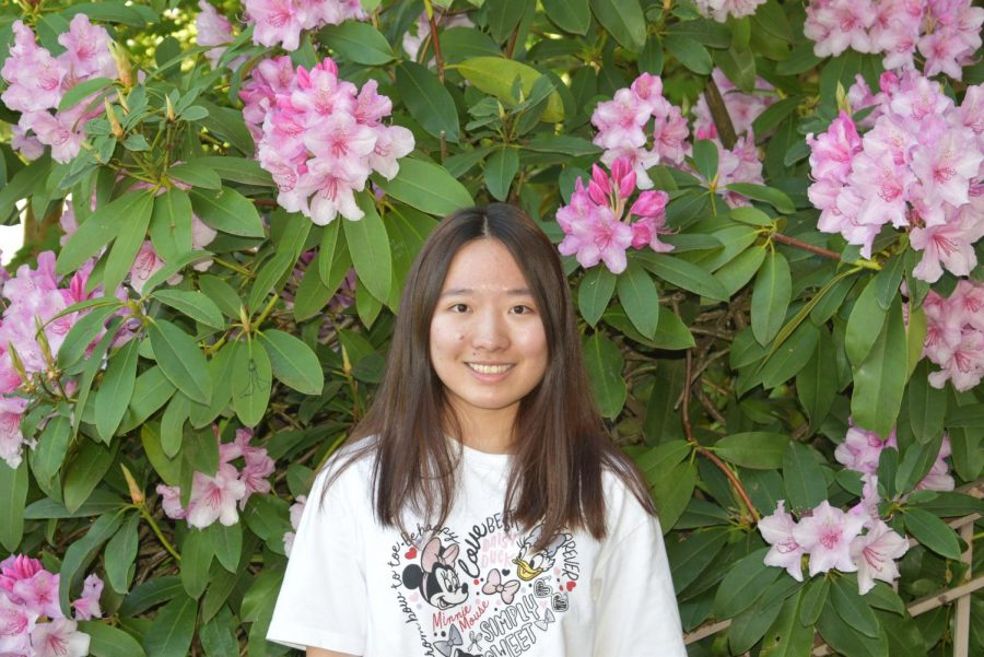 Aelta Fang, Sophomore was Cleveland's lone state champion. She placed first in Literary Interpretation for English language learners.