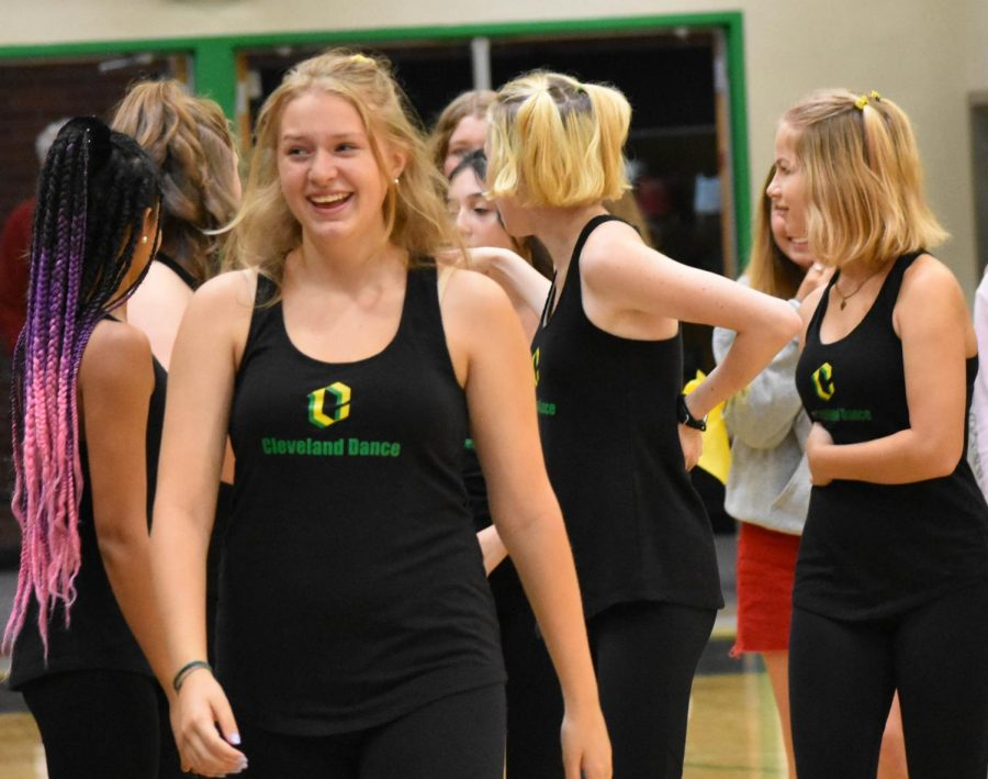 The Fall Kickoff Assembly featured music, games and lots of school spirit