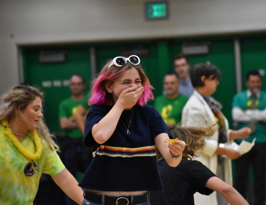 The Fall Kickoff Assembly was tons of fun, with lots of games and music.