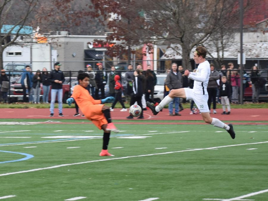 Boys Soccer: Strikers Shine in Historic Cleveland Win