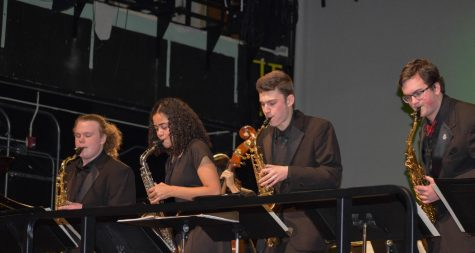 File photo. The winter music assembly on Dec. 16, 2019, involved band, choir, and jazz band.