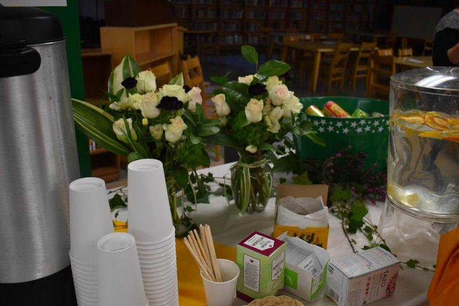 The Tea Ceremony following the voting assembly