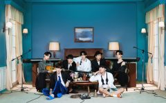 BTS released the first concept photo for their upcoming album, BE. The album is set to come out on November 20, 2020. Photo by BigHit Entertainment