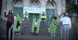 Cleveland students gathered to welcome the newest class of 2025