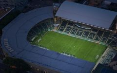 An aerial view of Providence Park when on June 8 at 4 pm Cleveland class of 2021 will graduate