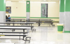 Cafeteria clear of hateful speech the day  after an incident was reported to administrators.