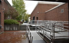 Accessibility ramp (East wing Breezeway).